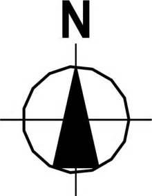 Plan North Symbol