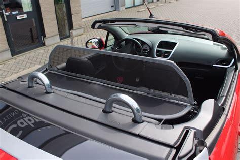 peugeot  cc wind deflector grey   cabrio supply