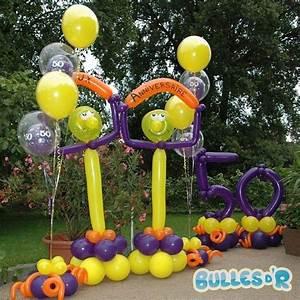 Décoration D Anniversaire : bullesdr d coration d 39 anniversaire en ballons roppenheim ~ Dode.kayakingforconservation.com Idées de Décoration