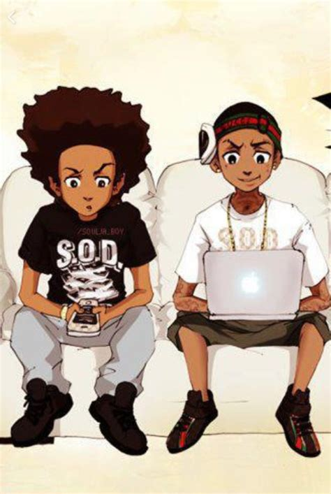 Boondocks Huey S From Girlfriend Pictures To Pin On