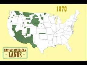 Native American Land Loss Map