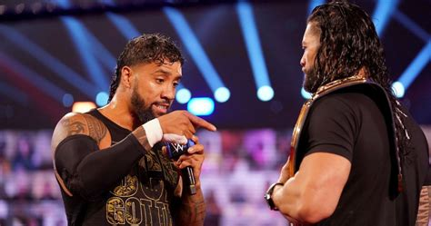 wwe  letting jey uso roman reigns perform   promos