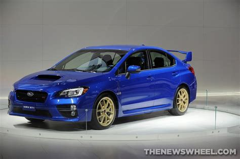 Subaru Releases 2015 Wrx Pricing, Wrx Sti Pricing