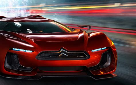 Citroen concept car tunnel | Uwe Breitkopf Photography
