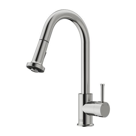 kitchen spray faucets vigo vg02002st stainless steel pull out spray kitchen