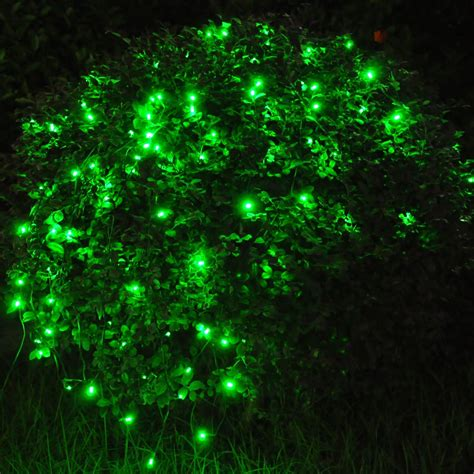 60 led string solar light outdoor garden wedding