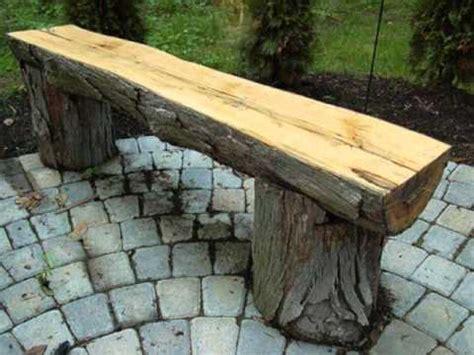 build outdoor bench youtube