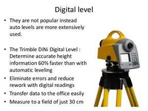 Advance surveying equipments
