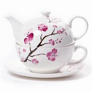 Tea For One Set : shamila tea for one set cherry blossom bone china ~ Orissabook.com Haus und Dekorationen