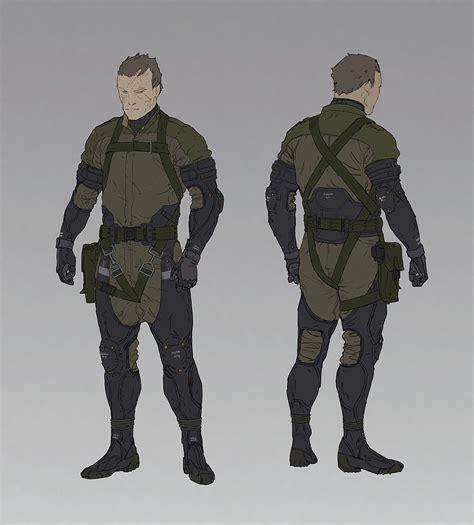 Ajtron 'sneak Suit Concept Art For Metal Gear Online