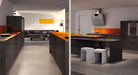cuisine orange et gris cuisine orange et gris amazing jaune blanc et noir with cuisine orange et gris trendy peinture