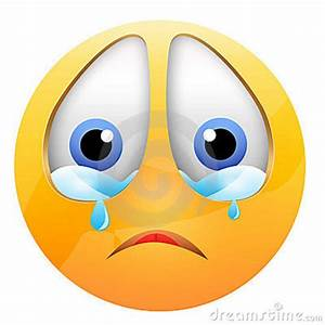 Image Of A Crying Face - ClipArt Best