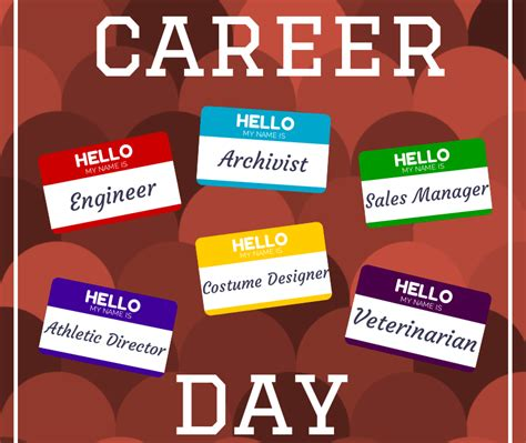career day images coordinating career day school counseling by