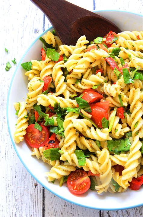 healthy pasta 5 ingredient healthy pasta salad