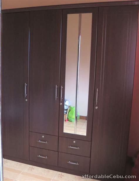 cabinet doors and drawers for sale wardrobe cabinet four doors drawers and mirror for sale