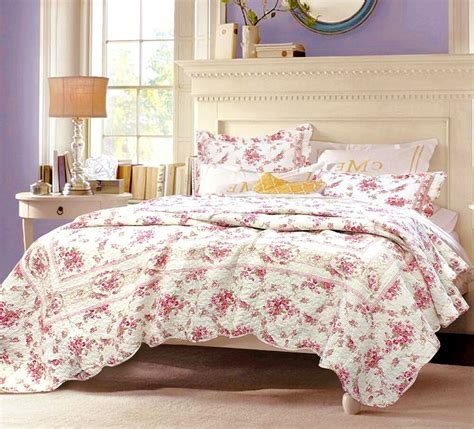 Vintage Coverlets by Shabby Chic Vintage 100 Cotton Quilt Set Bedspread