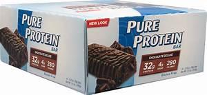 Pure Protein Bars  Chocolate Deluxe   Did I Get Enough Protein To Write This Review   U2013 Junk Food Cat