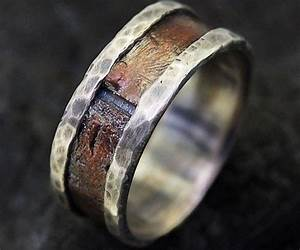 rustic mens wedding ring bold fashion and ring With rustic wedding rings for men