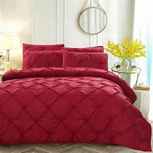 Luxury, Design, Duvet, Cover, Sets, Solid, Color, Twin, Full, Queen