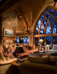 french country gothic mountain modern living room charlotte by mark sinsky architect pa