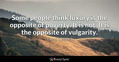 people  luxury     poverty
