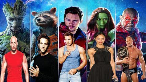 cast overview guardians   galaxy vol