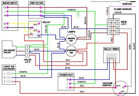 3 Way Valve Diagram by Nrv Nor Vac Burner Wiring Diagrams