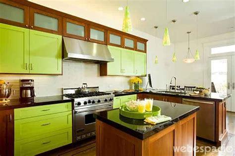 mueble de cocina verde limon reforma cocina verde