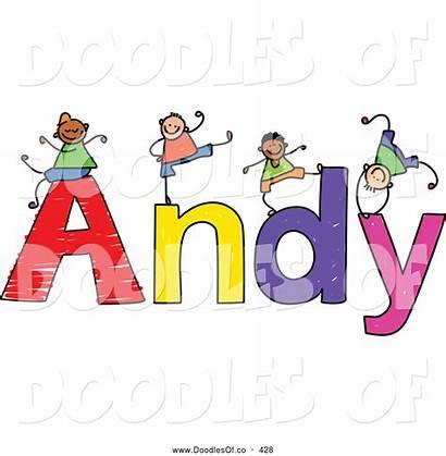 Clipart Boys Names Andy Clip Vector Panda