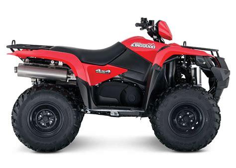 Suzuki Announces Additional 2016 Atv Models