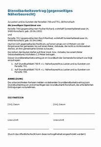Lebenslanges Wohnrecht Ohne Grundbucheintrag : dienstbarkeitsvertrag gegenseitiges n herbaurecht muster zum download ~ Watch28wear.com Haus und Dekorationen
