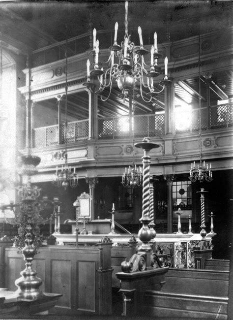 rekonstruktion des inventars der ehemaligen barocksynagoge