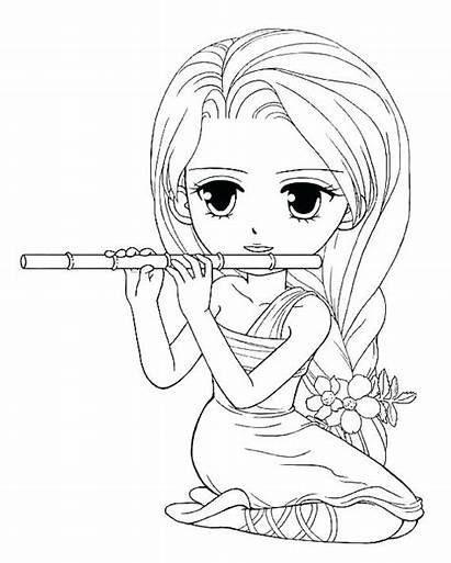 Coloring Pages Sister Printable Pretty American Doll