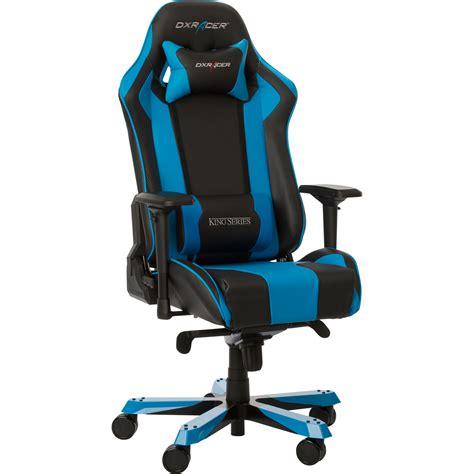 siege gamer dxracer king ks06 bleu fauteuil gamer dxracer sur ldlc com