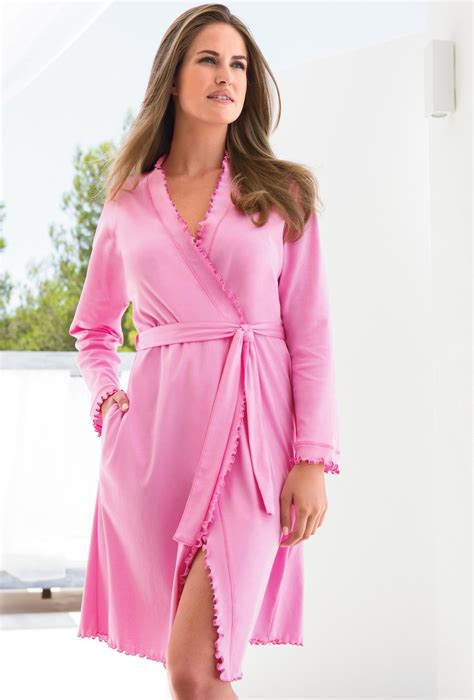 robe de chambre femme coton robe de chambre en coton pour femme