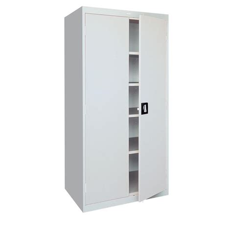 steel storage cabinet sandusky elite series 78 in h x 36 in w x 24 in d 5