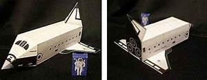 PAPERMAU: Easy-To-Build Space Shuttle Paper Model For Kids ...