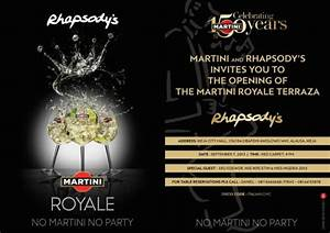 "Come Party with Martini at the Opening of the ""Martini ..."