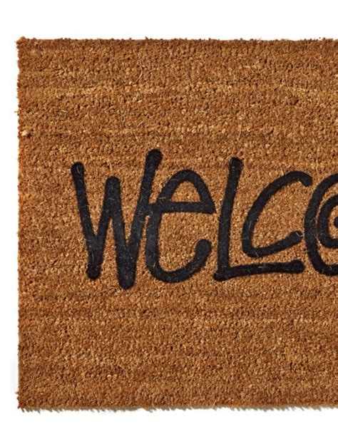 stussy doormat stussy quot welcome quot door mat available now freshness mag