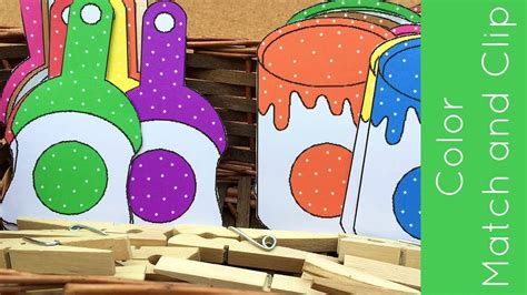 toddler and preschool color matching activity 337   maxresdefault