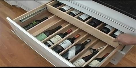 fix  cabinet wine bottle drawer