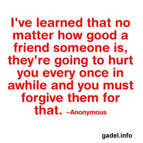 Friends Hurting Me Quotes