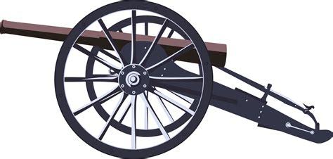 Cannon Clip Wheel Clipart Cannon Pencil And In Color Wheel Clipart
