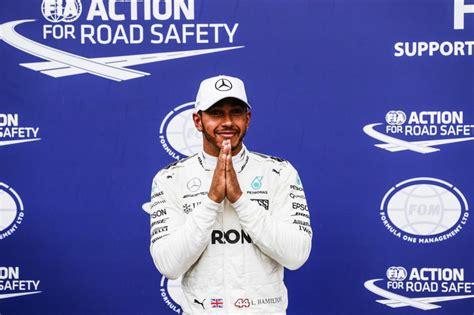 F1 - Hamilton takes all-time F1 pole record after marathon ...