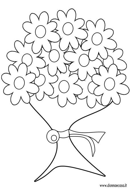 fiori disegni disegni di bare con mazzi di fiori da colorare migliori
