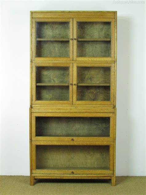 Heals Bookcase by Heal S Glazed Oak Sectional Bookcase Antiques Atlas