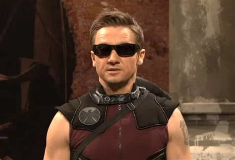 Jeremy Renner Spoofs The Avengers Snl Video Complex