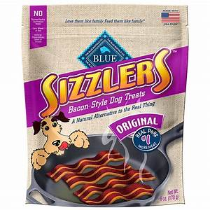 Blue buffalo blue sizzlers bacon style dog treats petco for Blue sizzlers dog treats