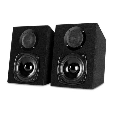 2 wege lautsprecher st 2000 passiver 2 wege lautsprecher 40w paar schwarz