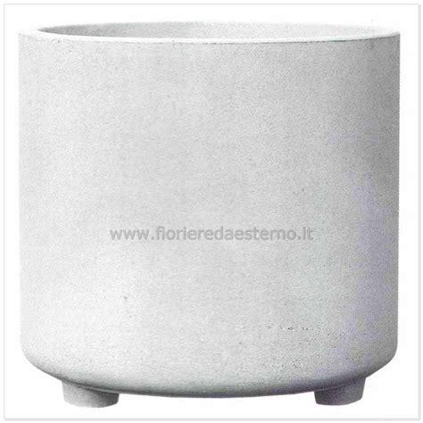 vasi in cemento da giardino vasi cemento tondo liscio 03013557 poroso fioriere da